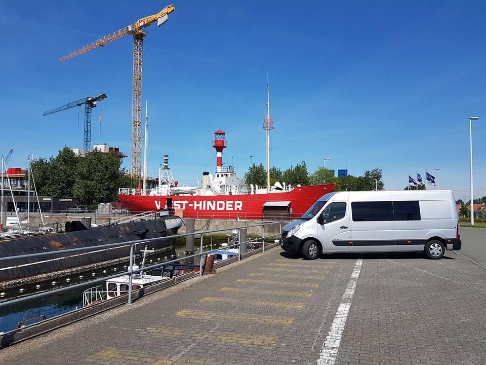bus stojący w Niemczech