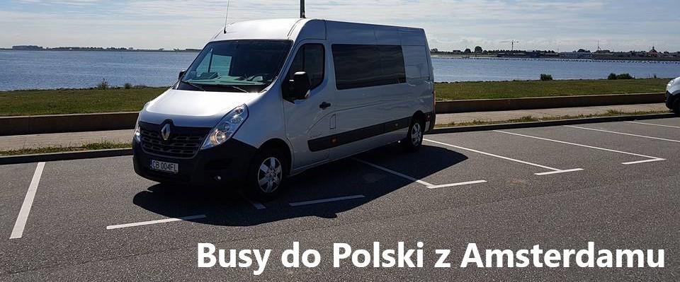 busy do polski z amsterdamu