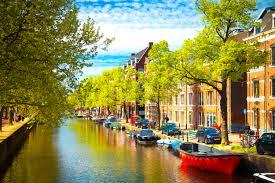ciekawe miejsce w Holandii do wyjazdu busem